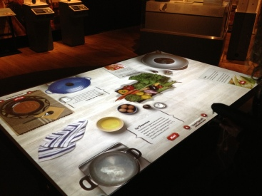 Interactive table...