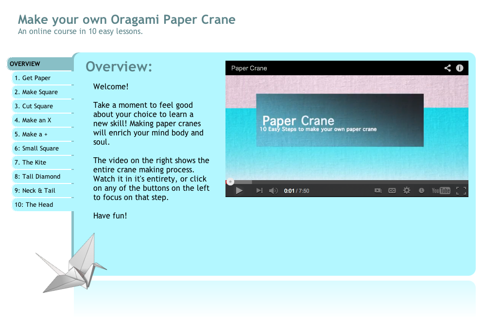 PaperCrane Website
