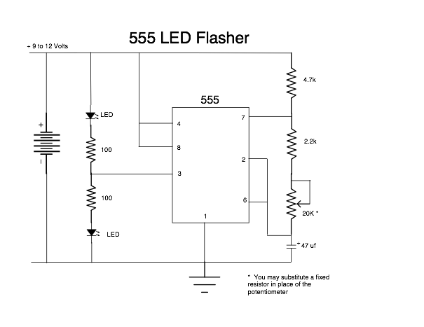 555_LED_Flasher
